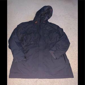 Mountain hardwear men's XL black dry Q jacket